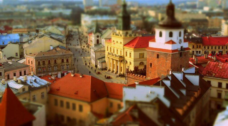 widok miasta Lublin